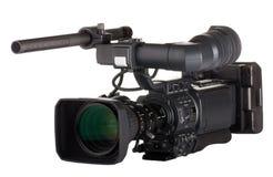 barkowy fachowy videocamera Zdjęcia Stock