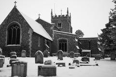 Barkway Church Royalty Free Stock Image