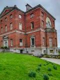 Barlaston Hall, Staffordshire lizenzfreie stockfotografie