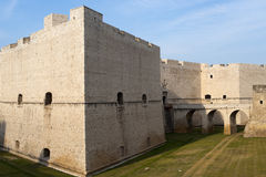 Barletta (Apulia, Italy) - Medieval castle Royalty Free Stock Images