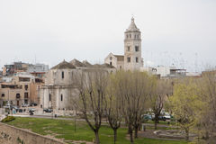 Barletta Cathedral View from the castle Stock Photography