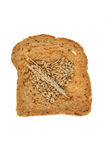 Barley in bread Stock Photography