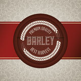 Barley design Stock Photography