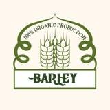 Barley design Royalty Free Stock Photos