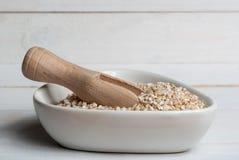 Barley groats Royalty Free Stock Image