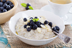 Barley porridge in a bowl Stock Images