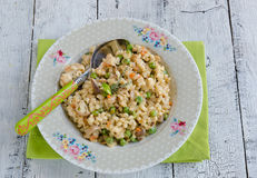 Barley porridge Royalty Free Stock Photography