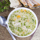 Barley soup Royalty Free Stock Photos