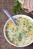 Barley soup Stock Images