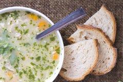 Barley soup Stock Photos