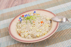 Barley soup Royalty Free Stock Images
