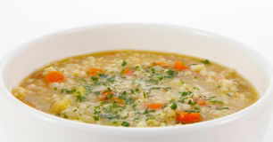 Barley soup Royalty Free Stock Photo