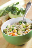 Barley and vegetables ragout Stock Images