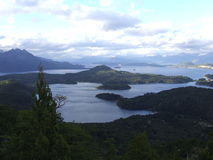 Barloche湖 免版税库存照片