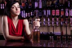 Barmaid Стоковое Изображение