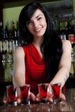 Barmaid Stock Photography