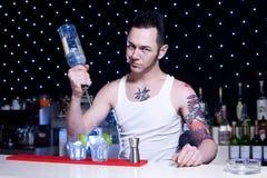 barman Obrazy Royalty Free