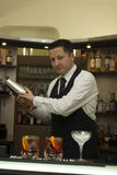 Barman Royalty Free Stock Photo