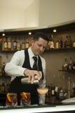 Barman Image libre de droits