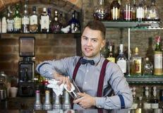 Barman fotografia royalty free