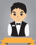 barman Royalty-vrije Stock Foto