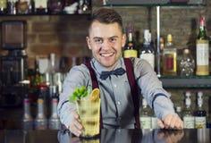 barman Fotografia Stock