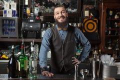 Free Barman At Work. Stock Image - 70435551