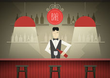 Barman Stock Images