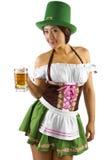 Barman de jour de St Patricks Photos stock