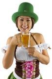 Barman de jour de St Patricks Image stock