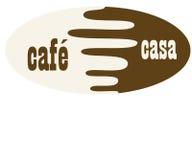 barman kawy cappuccino dom gotowy Obraz Royalty Free