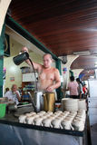 Barman traditionnel en Indonésie Photos stock