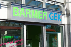 Barmer GEK Stock Photo