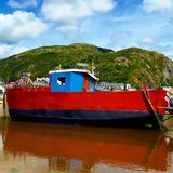 Barmouth Boat Royalty Free Stock Images