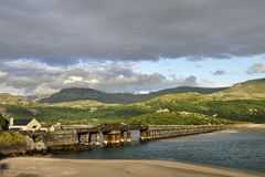 Barmouth Bridge Stock Photography