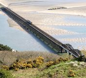 Barmouth Bridge Royalty Free Stock Photos