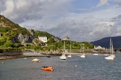 Barmouth Harbour Stock Images