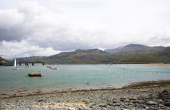Barmouth harbour North Wales Stock Photography