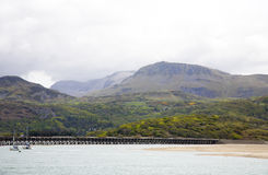 Barmouth harbour North Wales Royalty Free Stock Photo