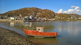 Barmouth Harbour in Wales, UK Stock Images