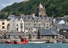 Barmouth, Noord-Wales, het Verenigd Koninkrijk royalty-vrije stock foto