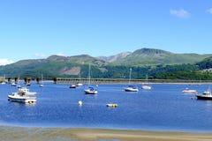 Barmouth, País de Gales Foto de archivo libre de regalías