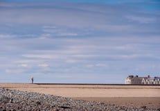 Barmouth scena, Walia zdjęcie stock