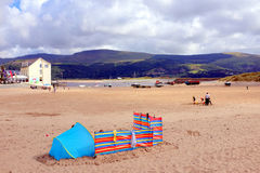 Barmouth, Wales stock afbeeldingen