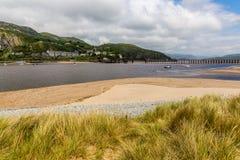 Barmouth Wales Großbritannien Lizenzfreies Stockbild