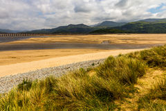 Barmouth Wales uk fotografia royalty free