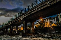 Barmouthviaduct royalty-vrije stock afbeeldingen