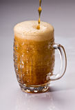 Barmy beer Stock Image