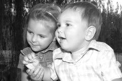 barn Arkivfoto