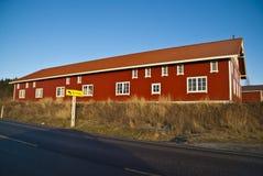 Barn. Beautiful barn on a farm in Skjeberg (Sarpsborg/Norway Royalty Free Stock Image